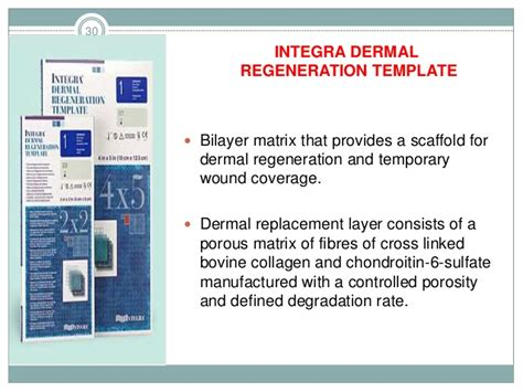 integra dermal regeneration template active wound coverings