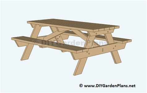 Free House Plans With Material List by Diy Building Plans For A Picnic Table