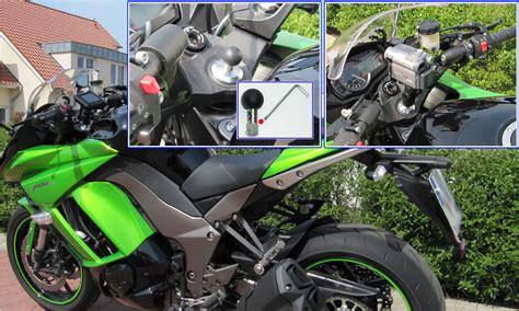 Navi Halterung Motorrad Kawasaki Z1000sx ram mount motorrad halterungen kugelflex bikehalter gps navi