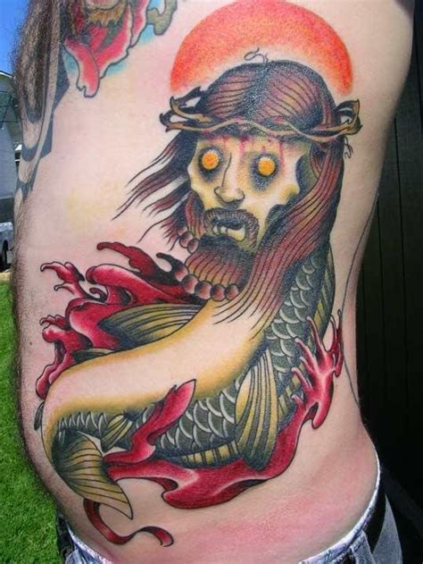 zombie tattoo fail eat my flesh zombie jesus tattoos