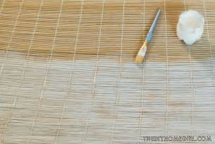 painted bamboo blinds diy tutorial rev your decor with whitewashing the