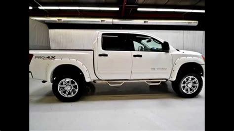 nissan titan pro 4x lifted 2011 nissan titan crew cab pro 4x 4x4 lifted truck