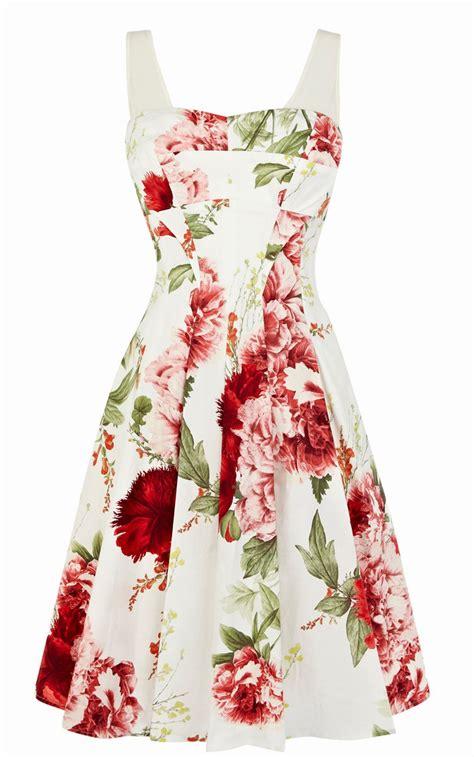 floral print dresses for spring summer 2018