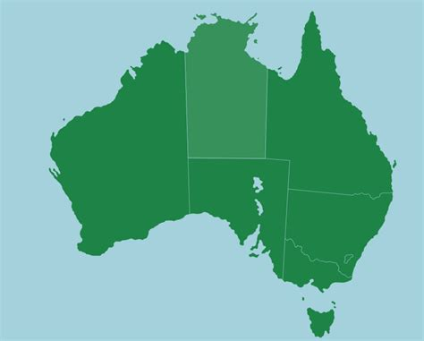 states in australia map australia states and territories map quiz