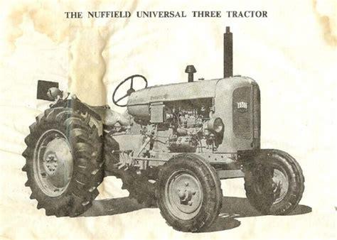 Nuffield 4m 4pm 4dm 3dl 342 460 Workshop Service Manual