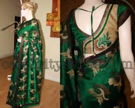 Kerala Home Design May 2013 Latest South Indian Designer Saree And Blouse Neck Designs
