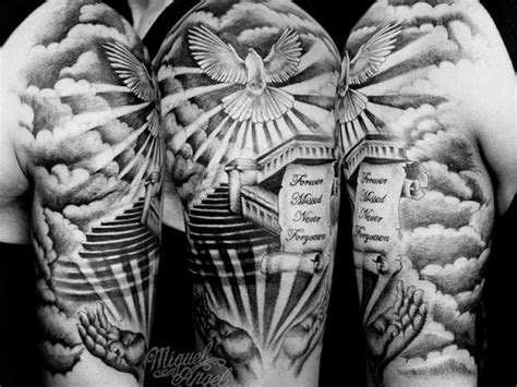 holy spirit tattoos 75 dove designs and symbolic meaning peace
