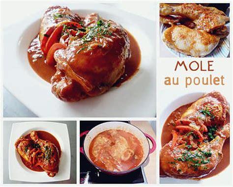 recette de cuisine mol馗ulaire recette de mole au poulet