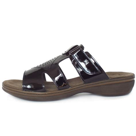 mule sandals for gabor hamburg s comfortable flat mule sandals