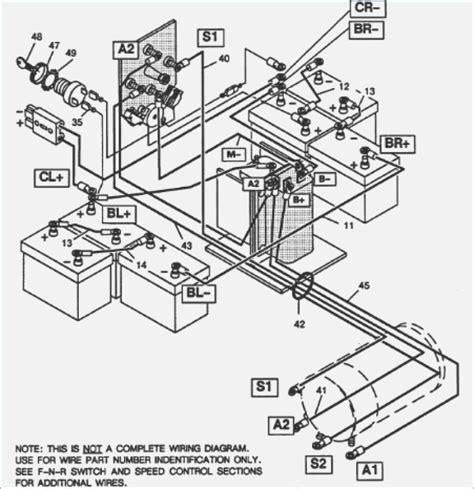 ezgo st480 parts wiring diagrams repair wiring scheme