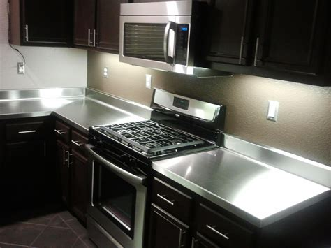 Stainless Steel Kitchen Countertops Stainless Steel Kitchen Countertops Pros And Cons Furniture