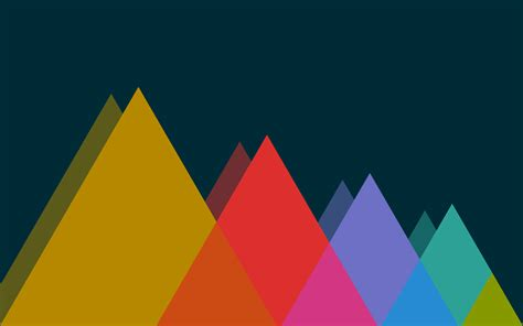 triangle pattern in linux nexus wallpapers