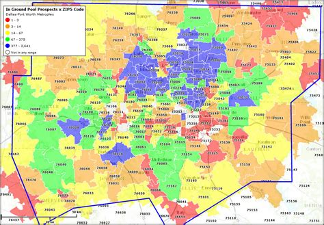fort worth zip code map a better way to sell more inground pools aqua magazine