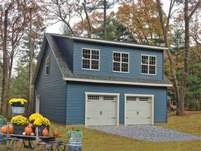 buy a 2 story 2 car garage free plans with purchase