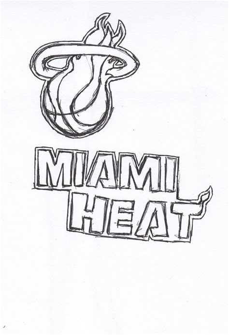 free printable miami heat coloring pages freecoloring4u com