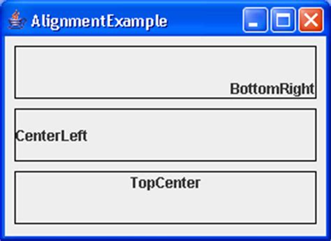 java layout vertical alignment formlayout button bar builder exle formlayout