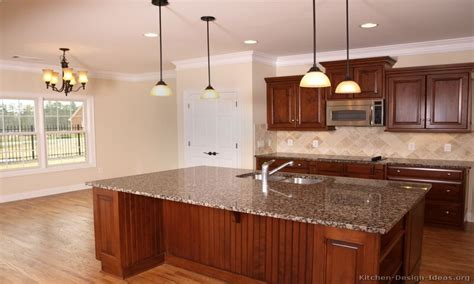 kitchen design cherry cabinets cherry wood kitchen cabinet designs medium wood kitchens