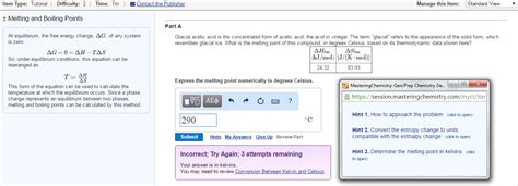 chemistry tutorial questions features for students masteringchemistry pearson