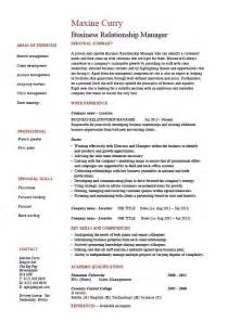 Commercial Relationship Manager Sle Resume by Business Relationship Manager Resume Brm Courses Recruitment