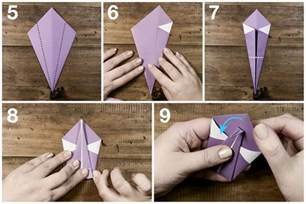 How To Make A Swan Out Of Paper - easy origami swan tutorial