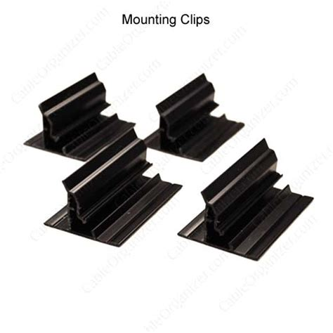 under desk cable clips wiremold 174 under cable management cableorganizer com