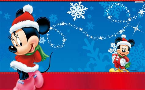 wallpaper disney natal disney christmas wallpapers desktop wallpaper cave