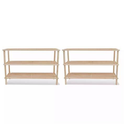 shoe rack shelf storage vidaxl co uk wooden shoe rack 3 tier shoe shelf storage