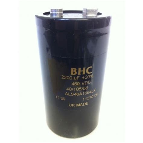 industrial capacitor 2200uf 450v bhc als40a1064lx best quality industrial capacitor fd3j16