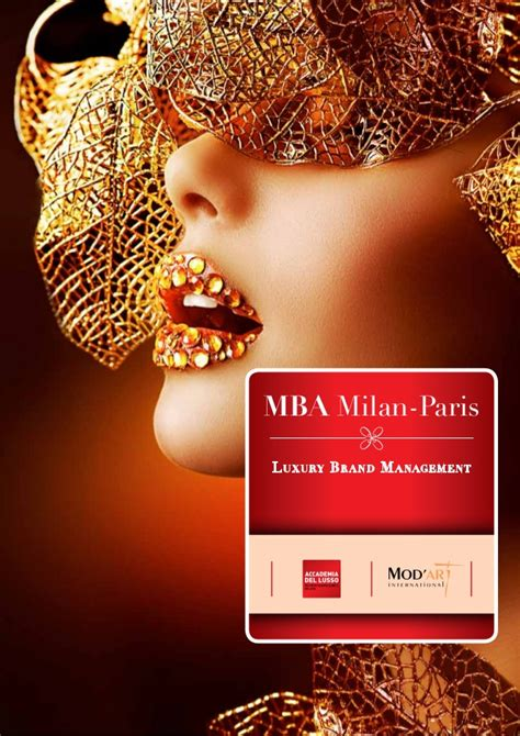 Mba Luxury by Mba Milan Luxury Brand Management