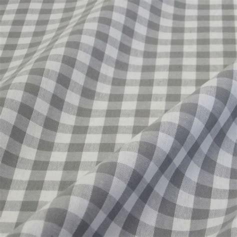 vorhang grau baumwolle stoff baumwolle baumwollstoff bauernkaro kariert grau wei 223