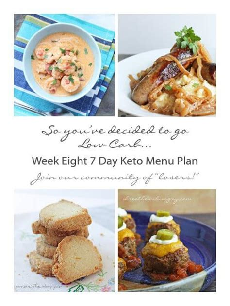 One Drop By Tunas Keto week eight 7 day keto low carb menu plan i breathe i m