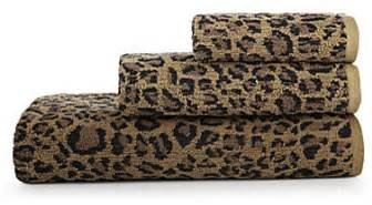 leopard print bath towels bay linens animal print bath towels leopard eclectic