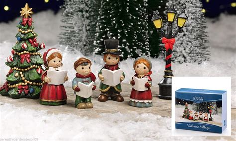 mini christmas victorian village 6 pieces mini world by