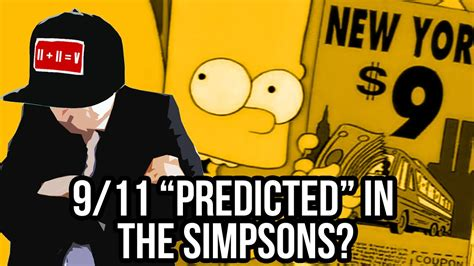the simpsons 911 predict 9 11 quot predicted quot in the simpsons youtube