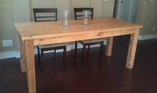 how to make a country kitchen table build a farmhouse table dave and davis