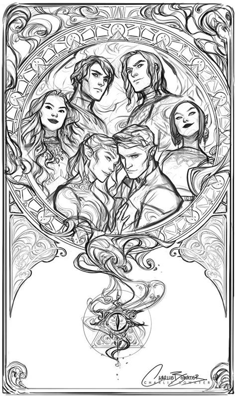 charlie bowater on | A Court of Thorns and Roses
