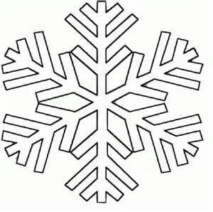 7 images plantillas copos nieve imprimir manualidades navidad