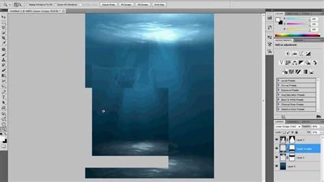tutorial photoshop underwater how to make underwater scene photoshop tutorial 9