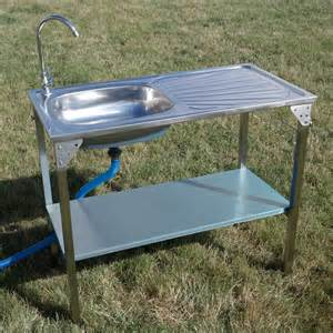 outdoor kitchen sinks outdoor kitchen sink cing unit portable folding ideal