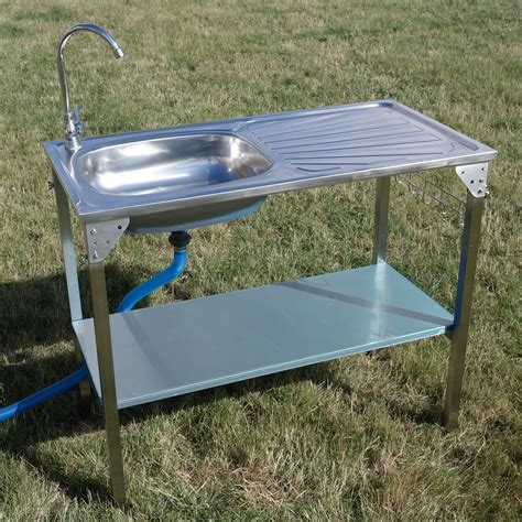 outdoor kitchen with sink outdoor kitchen sink camping unit portable folding ideal