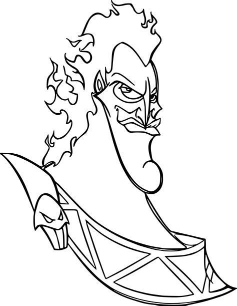 hades face coloring pages wecoloringpage