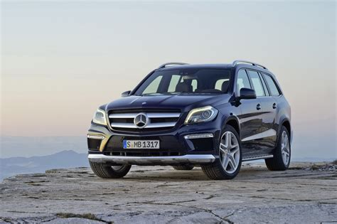 mercedes new suv all new 2013 mercedes gl suv revealed autotribute