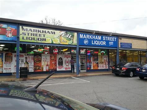 markham street liquor store beer wine spirits
