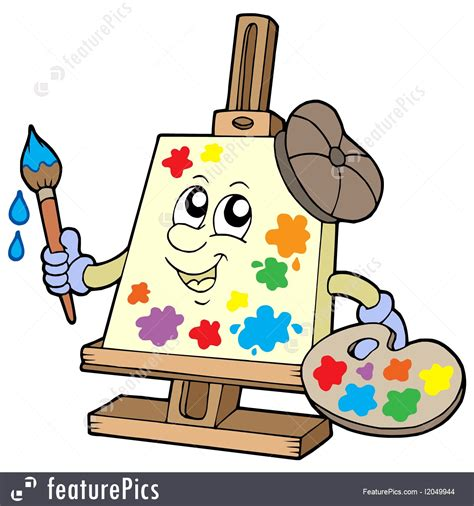 arts clipart artistic clipart canvas pencil and in color artistic