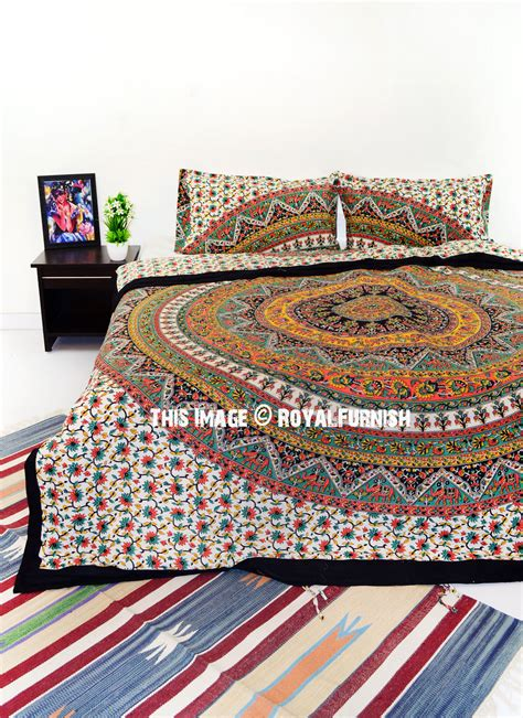 multicolor bedding multi kerala bohemian hippie bedding duvet covers set with