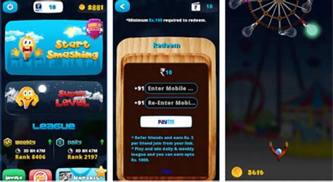 Play To Win Money - bulb smash game play win free paytm cash also rs 10 signup