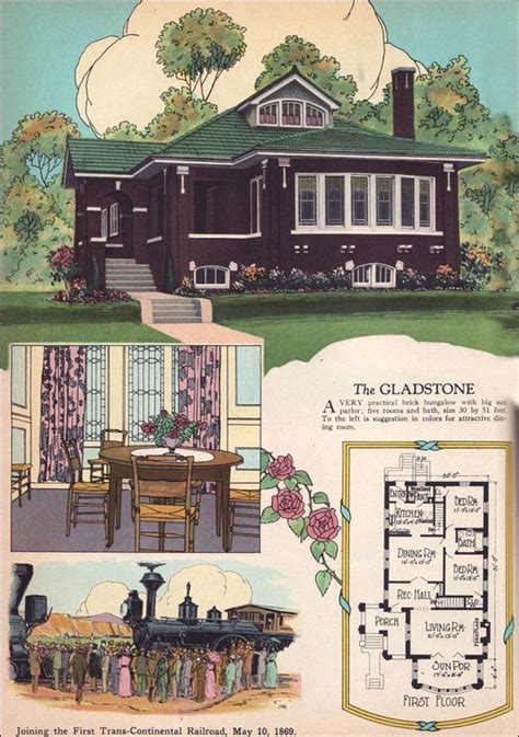 midwest living magazine house plans 1925 chicago style brick bungalow american residential