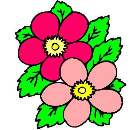 imagenes de flores individuales dibujo de flores pintado por hermosa en dibujos net el d 237 a