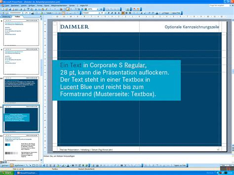 powerpoint layout hochformat daimler powerpoint templates 2007 2008 messingerdesign