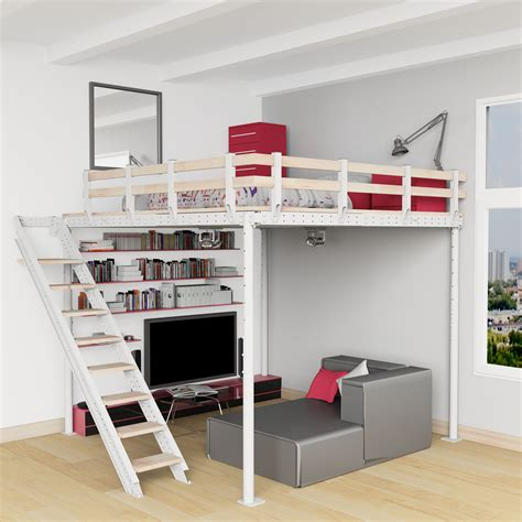 check   full product    loft bed kit  includes  stability kit stairs